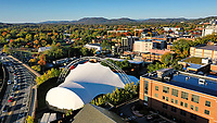 A view of the downtown area in Charlottesville, Virginia. Photo/Andrew Shurtleff Photography, LLC