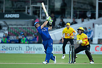 Josh Inglis of London Spirit goes big during London Spirit Men vs Trent Rockets Men, The Hundred Cricket at Lord's Cricket Ground on 29th July 2021