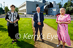 Norma Foley Minister for Education announcing the new extension that will be built in the CBS the Green on Friday. L to r: Norma Foley TD, Sean Spillane (Board of Management) and Ann O'Callaghan (Principal)