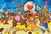 Alfredo, CUTE ANIMALS, puzzle, paintings(BRTO51264,#AC#) illustrations, pinturas, rompe cabeza