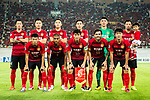 Guangzhou Evergrande squad pose for team photo during the AFC Champions League 2017 Quarter-Finals match between Guangzhou Evergrande (CHN) vs Shanghai SIPG (CHN) at the Tianhe Stadium on 12 September 2017 in Guangzhou, China. Photo by Marcio Rodrigo Machado / Power Sport Images