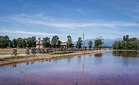 The peloton is nearing the Dolemites<br /> <br /> Stage 15: Valdengo › Bergamo (199km)<br /> 100th Giro d'Italia 2017