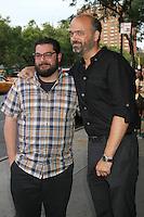 NEW YORK, NY - JULY 25: Bobby Moynihan and Scott Adsit at 'The Campaign' New York Premiere at Sunshine Landmark on July 25, 2012 in New York City. ©RW/MediaPunch Inc. /NortePhoto.com<br /> <br /> **SOLO*VENTA*EN*MEXICO**<br />  **CREDITO*OBLIGATORIO** *No*Venta*A*Terceros*<br /> *No*Sale*So*third* ***No*Se*Permite*Hacer Archivo***No*Sale*So*third*©Imagenes*con derechos*de*autor©todos*reservados*.