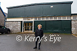 Claire Bunbury at the former site of the Silver Slipper Ballroom and Hallissey's Cash and Carry in Kenmare.