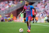 29th August 2021; Nou Camp, Barcelona, Spain; La Liga football league, FC Barcelona versus Getafe; Memphis Depay of FC Barcelona