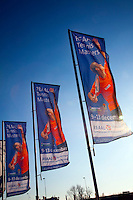 12-12-09, Rotterdam, Tennis, REAAL Tennis Masters 2009, Banners