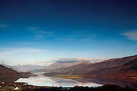 Loch Leven and Loch Linnhe from the Brecklet Trail, Ballachulish, Lochaber