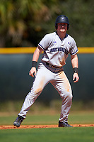 Northwestern Wildcats third baseman Connor Lind (15) during a game against the Illinois State Redbirds on March 6, 2016 at North Charlotte Regional Park in Port Charlotte, Florida.  Illinois State defeated Northwestern 10-4.  (Mike Janes/Four Seam Images)