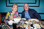 Bridie and John Kerins enjoying the evening in Croi on Saturday.