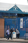 Sheffield Wednesday 2 Peterborough 1, 20/01/2010. Hillsborough, Championship. Supporters buying matchday programmes before Sheffield Wednesday take on Peterborough United in a Coca-Cola Championship match at Hillsborough Stadium, Sheffield. The home side won by 2 goals to 1 giving Alan Irvine his third straight win since taking over as Wednesday's manager. Photo by Colin McPherson.