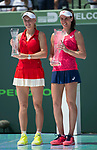 April 1 2017: Johanna Konta (GBR) defeats Caroline Wozniacki (DEN) by 6-4, 6-3, at the Miami Open being played at Crandon Park Tennis Center in Miami, Key Biscayne, Florida. ©Karla Kinne/Tennisclix/Cal Sports Media