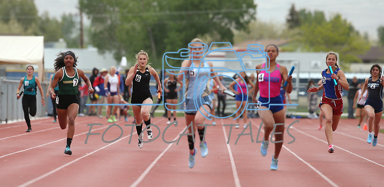 Images from the regional NIAA track & field meet at Carson High School, in Carson City, Nev., on Saturday, May 12, 2018.<br /> Photo by Cathleen Allison/Nevada Momentum