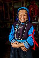 Dali, China 2010 . Chinese woman, Dali, Yunnan, 2010