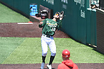 Tulane baseball splits a doubleheader with Houston on April 15, 2018 and clinches the series win.