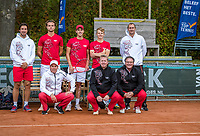 Netherlands, September 27,  2020, Beneden-Leeuwen, TV Lewabo, Competition, Men's premier league, TV Lewabo vs TV Suthwalda, The winning team: Lewabo<br /> Photo: Henk Koster/tennisimages.com
