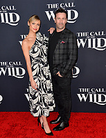 """LOS ANGELES, CA: 13, 2020: Hayley Erin & Adam Fergus at the world premiere of """"The Call of the Wild"""" at the El Capitan Theatre.<br /> Picture: Paul Smith/Featureflash"""