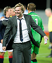 21/09/2010   Copyright  Pic : James Stewart.sct_jsp015_falkirk_v_hearts  .:: FALKIRK MANAGER STEVEN PRESSLEY AT THE END OF THE GAME :: .James Stewart Photography 19 Carronlea Drive, Falkirk. FK2 8DN      Vat Reg No. 607 6932 25.Telephone      : +44 (0)1324 570291 .Mobile              : +44 (0)7721 416997.E-mail  :  jim@jspa.co.uk.If you require further information then contact Jim Stewart on any of the numbers above.........