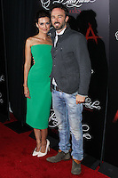 HOLLYWOOD, LOS ANGELES, CA, USA - MAY 31: Torrey DeVitto, Kick Gurry at the 'Pretty Little Liars' 100th Episode Celebration held at W Hotel Hollywood on May 31, 2014 in Hollywood, Los Angeles, California, United States. (Photo by Xavier Collin/Celebrity Monitor)