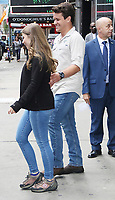 September 30, 2019 i Bindi Irwin, Chandler Powell at Good Morning America to talk about getting engage in New York. September 30, 2019 Credit:RW/MediaPunch
