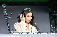 DJ Jess Izzat during London Spirit Women vs Trent Rockets Women, The Hundred Cricket at Lord's Cricket Ground on 29th July 2021