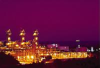 Oil processing facility, Gaviota, California
