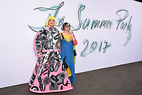 Grayson Perry<br /> at the 2017 Serpentine Gallery Summer Party, Hyde Park, London. <br /> <br /> <br /> ©Ash Knotek  D3287  28/06/2017