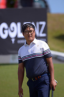 Dongwoo Kang. Day one of the Renaissance Brewing NZ Stroke Play Championship at Paraparaumu Beach Golf Club in Paraparaumu, New Zealand on Thursday, 18 March 2021. Photo: Dave Lintott / lintottphoto.co.nz