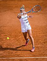 Paris, France, 27 May, 2019, Tennis, French Open, Roland Garros, Paula Parmentier (FRA)<br /> Photo: Henk Koster/tennisimages.com