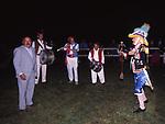 MAURIZIO COSTANZO CON LA BANDA MUSICALE<br /> FESTA PER I 60 ANNI DI MAURIZIO COSTANZO<br /> MANEGGIO DI GIANNELLA  1998