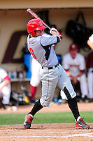 University of Hartford Hawks first baseman David MacKinnon (19) during a game versus the Boston College Eagles at Pellagrini Diamond at Shea Field on May 9, 2015 in Chestnut Hill, Massachusetts.  (Ken Babbitt/Four Seam Images)