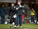 23/03/2010 Copyright  Pic : James Stewart.sct_jspa08_dundee_v_qots  .::  DUNDEE MANAGER GORDON CHISHOLM AND ASSISTANT BILLY DODDS SHOW THEIR FRUSTRATION  ::  .James Stewart Photography 19 Carronlea Drive, Falkirk. FK2 8DN      Vat Reg No. 607 6932 25.Telephone      : +44 (0)1324 570291 .Mobile              : +44 (0)7721 416997.E-mail  :  jim@jspa.co.uk.If you require further information then contact Jim Stewart on any of the numbers above.........