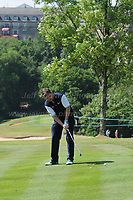 Danny O'Carroll of Team Ireland during the Bulmers 2018 Celebrity Cup at the Celtic Manor Resort. Newport, Gwent,  Wales, on Saturday 30th June 2018<br /> <br /> <br /> Jeff Thomas Photography -  www.jaypics.photoshelter.com - <br /> e-mail swansea1001@hotmail.co.uk -<br /> Mob: 07837 386244 -