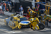 Monster Energy NASCAR Cup Series<br /> AAA 400 Drive for Autism<br /> Dover International Speedway, Dover, DE USA<br /> Sunday 4 June 2017<br /> Kyle Busch, Joe Gibbs Racing, Pedigree Petcare Toyota Camry, makes a pit stop<br /> World Copyright: John K Harrelson<br /> LAT Images<br /> ref: Digital Image 17DOV1jh_07227