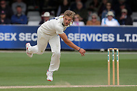 Wiaan Mulder in bowling action for Kent during Essex CCC vs Kent CCC, Specsavers County Championship Division 1 Cricket at The Cloudfm County Ground on 29th May 2019