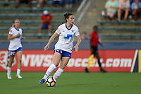 Cary, North Carolina  - Saturday June 17, 2017: Morgan Andrews during a regular season National Women's Soccer League (NWSL) match between the North Carolina Courage and the Boston Breakers at Sahlen's Stadium at WakeMed Soccer Park. The Courage won the game 3-1.