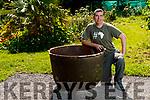 Shane McAulliffe in his garden