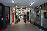 Pictured: A general view of Picton Arcade in Swansea city centre, Wales, UK.  Friday 12 July 2019 <br /> Re: General view of Swansea city centre, Wales, UK.