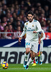 Isco Alarcon of Real Madrid in action during the La Liga 2017-18 match between Atletico de Madrid and Real Madrid at Wanda Metropolitano  on November 18 2017 in Madrid, Spain. Photo by Diego Gonzalez / Power Sport Images