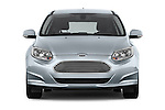 Car photography straight front view of a 2014 Ford FOCUS 5P 107kW Electric 142 ch 5 Door Hatchback 2WD Front View