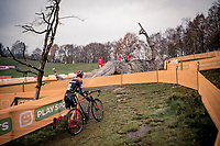 'The Rider & The Giant'<br /> <br /> Superprestige Boom (BEL) 2020<br /> Men's Race<br /> <br /> ©kramon