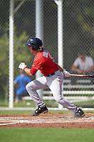 Boston Red Sox Jagger Rusconi (2) during an Instructional League game against the Minnesota Twins on September 24, 2016 at CenturyLink Sports Complex in Fort Myers, Florida.  (Mike Janes/Four Seam Images)