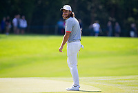 Tommy Fleetwood (England) during the BMW PGA PRO-AM GOLF at Wentworth Drive, Virginia Water, England on 23 May 2018. Photo by Andy Rowland.
