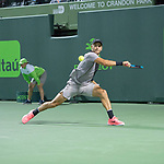 March 29 2018: Borna Coric (CRO) loses to Alexander Zverev (GER) 4-6, 4-6, at the Miami Open being played at Crandon Park Tennis Center in Miami, Key Biscayne, Florida. ©Karla Kinne/Tennisclix/CSM