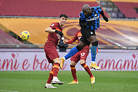 Romelu Lukaku of Inter during the Serie A football match between AS Roma and FC Internazionale at Olimpico stadium in Roma (Italy), January 10th, 2021. Photo Andrea Staccioli / Insidefoto