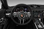 Car pictures of steering wheel view of a 2017 Porsche 911 Carrera-Coupe 2 Door Coupe Steering Wheel