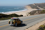 FB 386 Pacific Coastland.  5x7 postcards  Cabrillo Highway