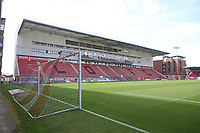 General view of the Justin Edinburgh stand during Leyton Orient vs Oldham Athletic, Sky Bet EFL League 2 Football at The Breyer Group Stadium on 11th September 2021