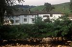 George Inn, Hubberholme, Yorkshire, England 1990s 1991
