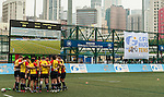 XXX vs XXX during day 1 of the 2014 GFI HKFC Tens at the Hong Kong Football Club on 26 March 2014. Photo by Juan Flor / Power Sport Images