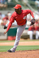 Cueto, Johnny 7103.jpg. Spring Training. Cincinnati Reds at Houston Astros. Spring Training Game. Friday March 20th, 2009 in Kissimmee., Florida. Photo by Andrew Woolley.